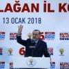 """Cumhurbaskanı Erdoğan, """"Güçlü Türkiye, bilesiniz ki dünyaya ayar veren Türkiye olacaktır"""""""