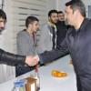 AK Parti Kadıköy İlçe Başkanı Şahin, yeni yıla inşaat işçileriyle birlikte girdi