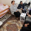 Başkan Aydın, omurilik hastası Aksu'nun hayalini gerçekleştirdi