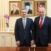 Başkan Bayram Şenocak'tan Başkan Uysal'a iadeyi ziyaret