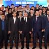 Başkan Erdem, öğrencilerle bir araya geldi