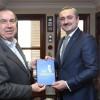 Başkan Şenocak, Kurucu İl Başkanı Büyükkaya'yı ziyaret etti