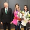 Başkan Uysal, dünya 2.'si olan İBB'li atlet Yeşim Bostan'ı tebrik etti