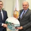 İBB Başkanı Uysal'dan İl Başkanı Bayram Şenocak'a hayırlı olsun ziyareti