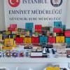 İstanbul'a kaçak yollarla getirilen kaçak tütün ve tütün mamullerine el konuldu