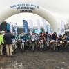 Sancaktepe'de yağmura rağmen dağ bisiklet yarışına yoğun ilgi