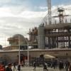 Taksim Camii'nin yapımı sürüyor