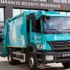 Ümraniye Belediyesi'ne modern çöp kamyonu