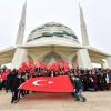 Üsküdar'da Sabah Namazı binlerce el Mehmetçiğimiz için 'Amin' dedi