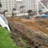 Kadıköy'de bir inşaatta toprak kayması!