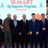 Başkan Erdem, doktorlar ve sağlık çalışanlarıyla bir araya geldi