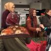 Beykoz'un AK Kadınları, Beykozluların Regaip Kandillerini çiçeklerle tebrik etti