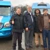Minibüsçüler günlük kazançlarını Afrin'deki askerlerimiz için Mehmetçik Vakfı'na bağışladı