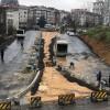 Ümraniye Belediyesi'nden trafiği rahatlatacak yol çalışmaları