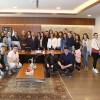 Başkan Can, Bosna-Hersekli öğrencileri makamında ağırladı