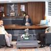 Başkan Eminmollaoğlu'na tebrik ziyareti