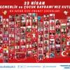 """Çekmeköy Belediyesi'nden """"Bu Vatan Size Emanet Çocuklar"""" görseli"""