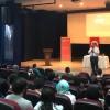 Erol Erdoğan, Ümraniyeli öğrencilerle buluştu