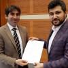 Faruk Bilal Şener, meclis için yola çıktı