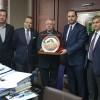 Fenerbahçe Kulübü Başkanı Aziz Yıldırım'ın önemli konukları vardı