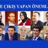 Siyasette çıkış yapan tanınmış simalar