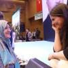 Bakan Sarıeroğlu'nun samimiyeti ve yürekten gelen sevgisinin yüze yansımış hali