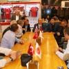 Başkan Hasan Can, Ümraniyespor Mekan Cafe'yi ziyaret etti