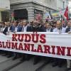 İsrail ve ABD, Taksim'de protesto edildi