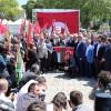 İstanbul'da katil İsrail protesto edildi
