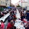 Sancaktepe'de mahalle iftarlarına yoğun ilgi