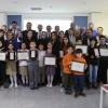 Ümraniyeli öğrenciler, atık pil toplama yarışmasında ödüllendirildi