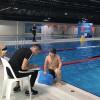 Üsküdar'da minik yüzücüler yarıştı