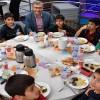 Başkan Türkmen, yetim ve öksüz çocuklarla iftar sofrasında buluştu