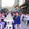Çekmeköy Belediyesi 'Bereket Sofrası' Taşdelen'de kuruldu