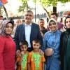 Başkan Hilmi Türkmen, Ünalanlılarla 5 çayında buluştu