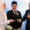 Cumhurbaşkanı Erdoğan, Kurtulmuş'un kızının nikah şahidi oldu