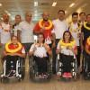Avrupa rekoru kıran engelli milli atletlerimiz yurda döndü
