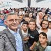 Başkan Türkmen, Yavuztürk sakinlerini Valide Sultan Gemisi'nde ağırladı