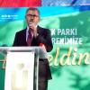 Başkan Türkmen, Fidanlık Parkı açılışında müjdeyi verdi