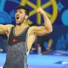 Sancaktepe Belediyesporlu Milli Güreşçi Arif Özen Dünya Gençler Şampiyonu